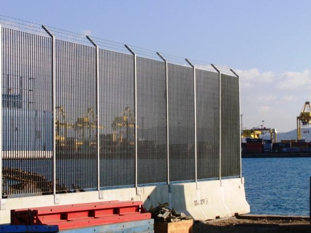 Recinzioni portuali reti brenta impianti for Reti brenta impianti